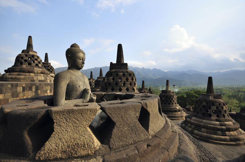 Temple de Borobudur & villages traditionels