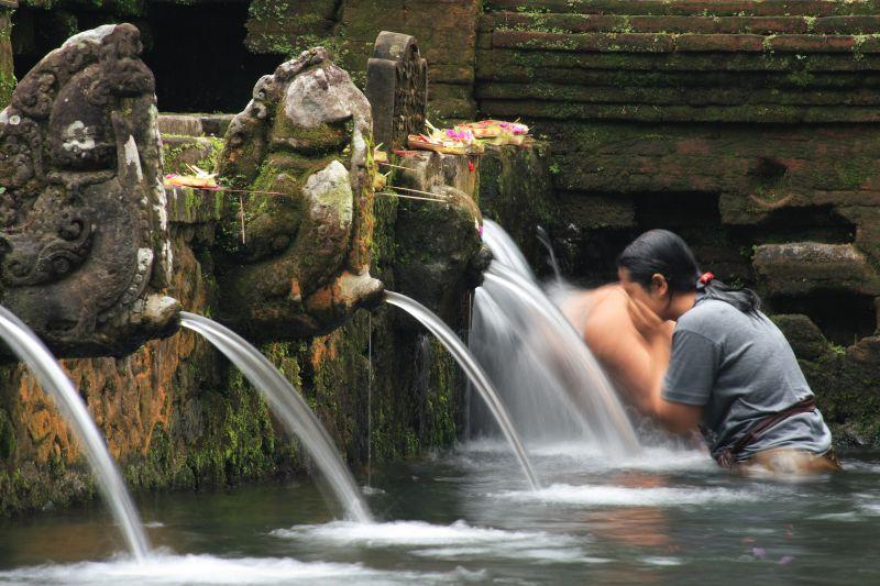 Matinée traditionnelle balinaise et temples aux alentours d'Ubud